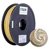 eSUN Filamento PVA Soluble en Agua 2.85mm, Impresora 3D Filamento PVA, Precisión Dimensional +/- 0.05mm, 0.5KG (1.1 LBS) Carrete Material de Soporte para Impresión 3D, Natural