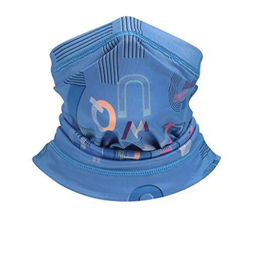 KPILP Bedruckte Multifunktionstuch Gesichtsmaske Atmungsaktiv Schlauchtuch Halstuch Outdoor UV Motorrad Mundschutz für Damen und Herren