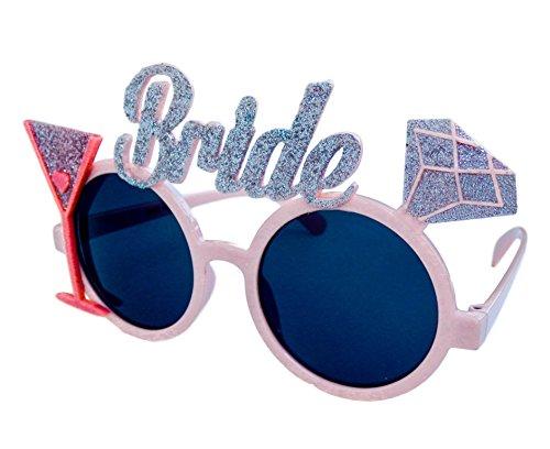 Sterling James Co. Bride to Be Brille - Junggesellinnenabschied - Braut Frau Kostüm Deko Scherzbrille- Hochzeit