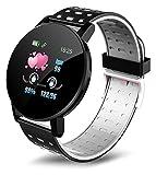 Schermo a colori Smart Watch Sleep Sleep Monitoring Guarda orologio con cardiofrequenzimetro Guardia da banco Guarda Guarda Guarda il touch screen Touch Screen Guarda digital watch ( Color : White )