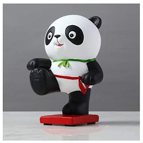 Decoración de escritorio de estantería Regalos Sala de escritorio Accesorios nórdica Panda Mobiliario hogar creativo Sala de TV Gabinete for niños hecha a mano de una variable únicas Soporte Escritori