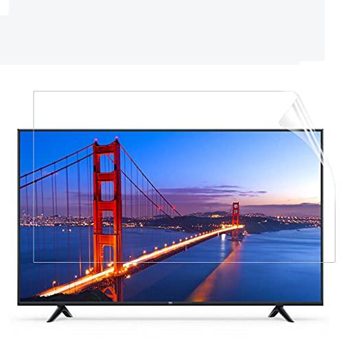 Protector de Pantalla de luz Anti Azul para TV, TV Filtro Anti deslumbramiento Filtro Aliviega la tensión para los Ojos para LCD, LED, TV Anti-glaro Protector 43-75 Pulgadas,60' 1327 * 749mm