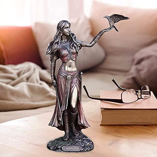 Celtic Goddess Morrigan Statue, The Celtic Goddess of Battle Sculpture, Handicraft Art Decoration, Desktop Decoration Figurines, Resin Crafts for Home Furnishing Decoration (1pcs)