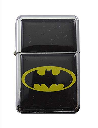 Feuerzeug Star Batman Wappen Windproof nachfüllbares Flip-Top