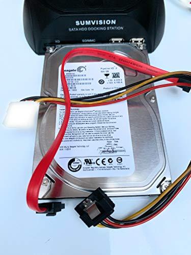 Seagate Pipeline 8,9 cm SATA 3.0 Gb/s INTERNAL Desktop Festplatte für PC, Mac, CCTV, DVR, NAS, raid- 1 Jahr Garantie 500gb