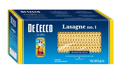 De Cecco Pasta, Lasagne 16 oz