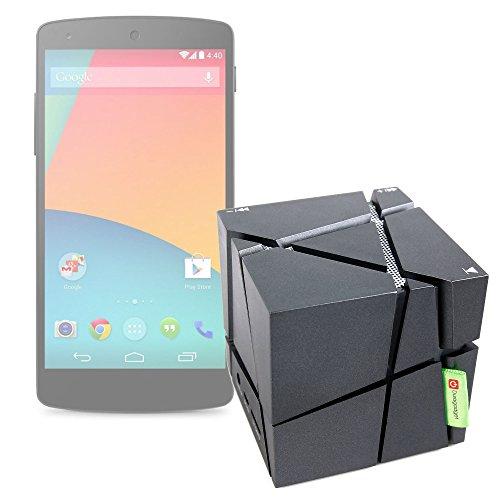 Enceinte sans Fil pour Smartphone Huawei Y5, Cat S30 et Huawei Y3 – compacte avec Jeux de lumière, par DURGAADGET