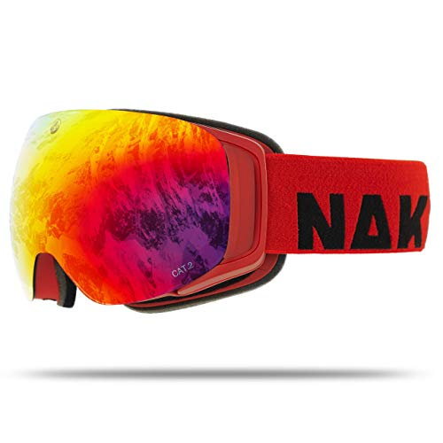NAKED Optics Force EVO Ruby (Red Lens), ohne Schlechtwetterglas