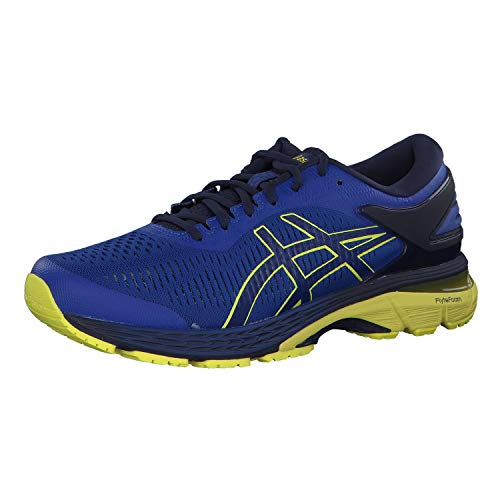 Asics Men's Gel-Kayano 25 Running Shoes,Blue (Asics Blue/Lemon Spark 401) ,9 UK (44 EU)