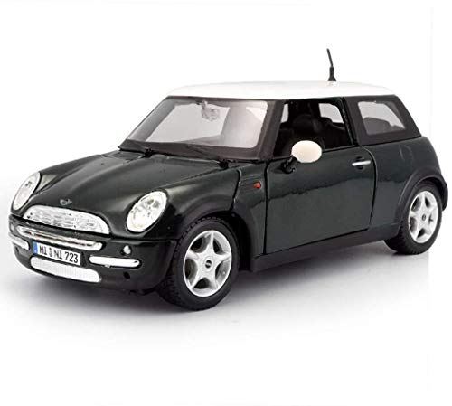 LYQQQQ Auto-Modell-Auto 1,24 Simulation Legierung Druckguss-Spielzeug Schmuck Sport Car Collection Schmuck 16x8x6CM (Farbe, Wein-Rot) (Color : Dark Green)