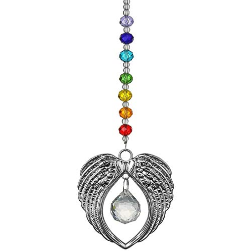 Collares de ala de ángel para mujer, colgante de ala de ángel...