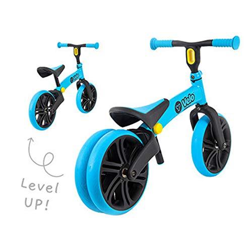 First Bike Bicicleta Bici sin Pedales Niño con sillín Regulable, Color Azul 1-5 años,Blue