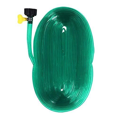 hehsd0 - Tubo de riego de flujo ajustable (PV), 12 metros, para jardín, jardín, jardín, jardín, jardín, jardín, invernadero