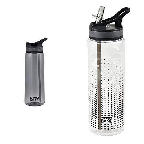 Polar Gear Aqua Curve Tritan Bottle Black 750 ml Active 600ml Tritan Bottle Black Optic Dot Polyester 72 x 72 x 235 cm