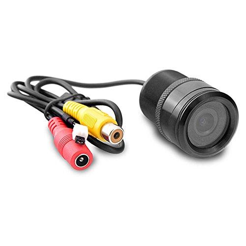 Carmedien Rückfahrkamera STO-ESIR Einbaukamera mit Einstellbarer Spiegelfunktion Frontkamera Seitenkamera