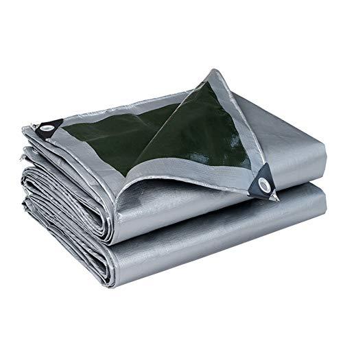 Bâche UV imperméable de qualité supérieure, Couverture de bâche avec œillets, bâche de terrasse for Jardin (Size : 3m×6m)