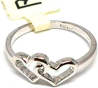 خاتم نسائي مطلي بالفضة مقاس 7 أمريكي RING SILVER PLATED SIZE 7, Women ring SILVER plated