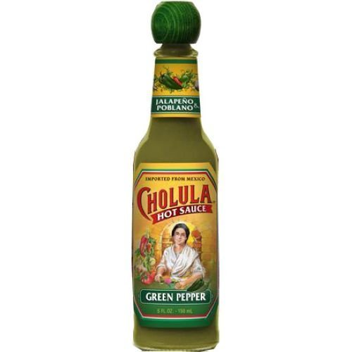 Cholula  3 PACK  Green Pepper Hot Sauce 5oz Each