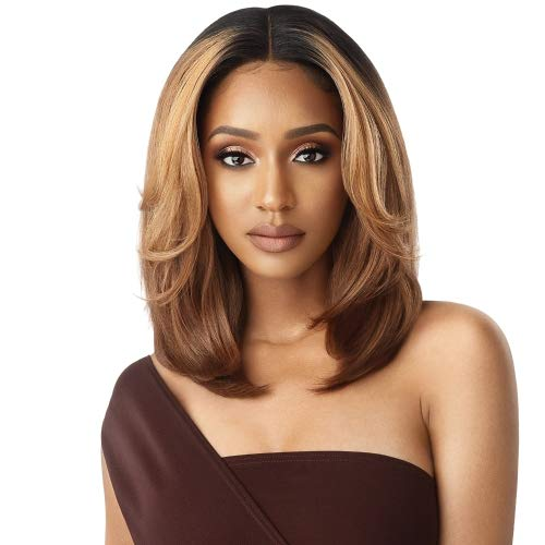 Outre Neesha Soft & Natural Synthetic Swiss Lace Front Wig NEESHA 201 (DRFF2/CINSP)