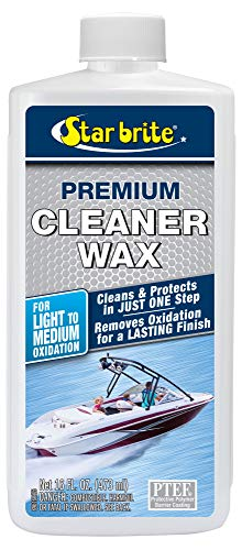 STAR BRITE Premium Cleaner Wax - 16 OZ (089616P)