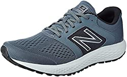 in budget affordable New Balance 520 V5 Men's Running Shoes, Lead / Lightweight Aluminum, 8.5 XW US