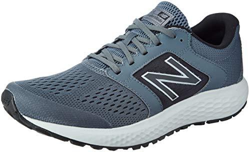 New Balance Men's 520 V5 Running Shoe, Lead/Light Aluminum, 13 XW US