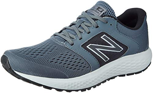 New Balance Men's 520 V5 Running Shoe, Lead/Light Aluminum, 12 XW US