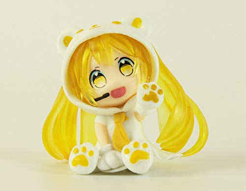 pvc2.5 inch Mini Cute Anime figurees Doll Anime Figurines (Yellow)