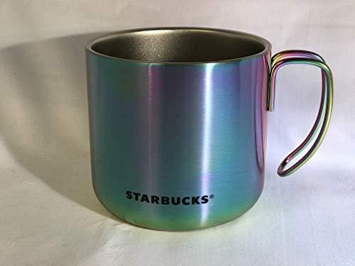 Starbucks Rainbow - Taza de café (acero inoxidable, 12 onzas)