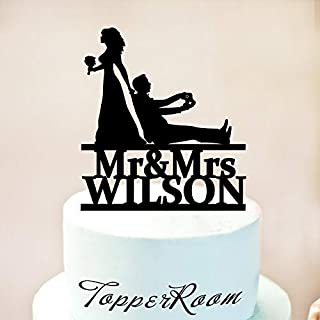 wedding cake topper video game