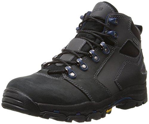 Danner Men's Vicous 4.5 Inch Work Boot,Black/Blue,9.5 D US
