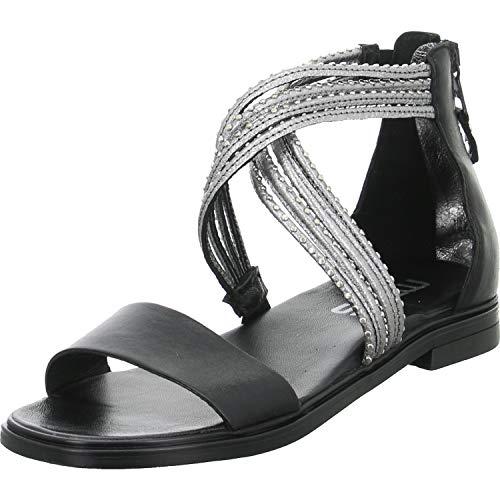 Mjus Sandaletten Größe 42 EU Schwarz (Schwarz)