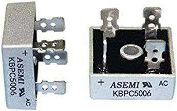 KBPC1510 ASEMI Metal Case Rectifier Bridge Diode 1000v 15amp for Air Conditioning//Elevator/… Pack of 2pcs