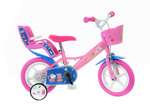 Dino cyklar 124 rl-pig Peppa Pig 30,5 cm cykel