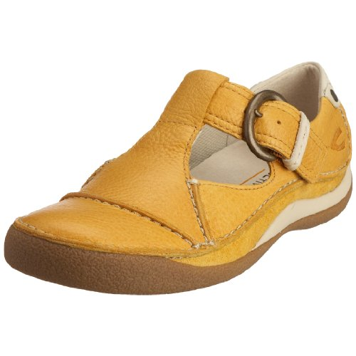 camel active Senegal 717.12.02, Damen Ballerinas, gelb, (yellow), EU 41, (UK 7.5)