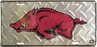 Arkansas Razorbacks Diamond License Plate Frame NCAA