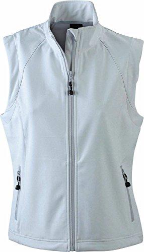 Modische Softshellweste für Damen, Farbe:off-white;Größe:M