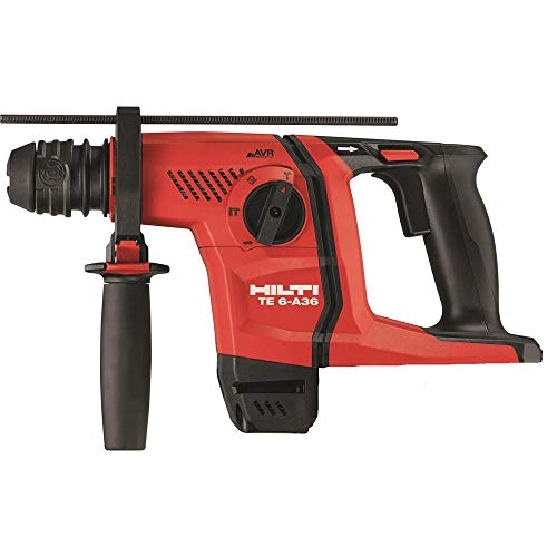 36-Volt Lithium-Ion 1/2 in. SDS Plus Cordless Rotary Hammer TE 6-A36 Tool Body