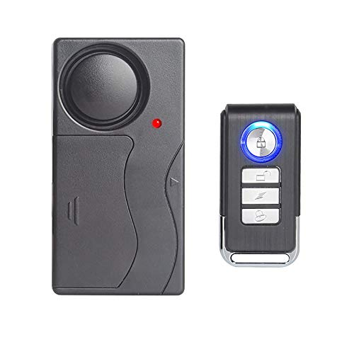 Mengshen Wireless Vibration Alarm, Anti-theft Burglar Alarm for...