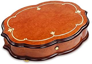 """Reuge Handcrafted Classic Style 3.72 Note Music Box Titled """"Fleur de LYS"""" - Many Songs Available - Polonaise, Tristesse, Impromptu"""