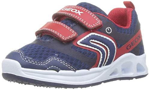 Geox Baby Jungen B Dakin Boy B Sneaker, Blau (Navy/Red C0735), 20 EU
