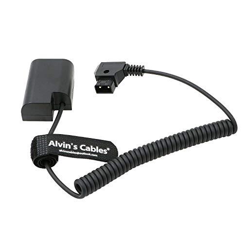 Alvin's Cables Anton Bauer D-Tap auf DMW-DCC12 Gleichstromkoppler Dummy Batterie für Spiral Kabel für Panasonic DMC-GH5 GH4 GH3
