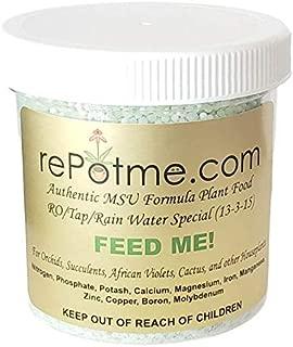 Orchid Fertilizer - Feed ME! MSU - RO/Rain/Tap Water (8 oz Jar)