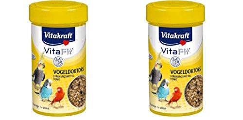 2 St.Vitakraft Vogeldoktors Stärkungsmittel 50g