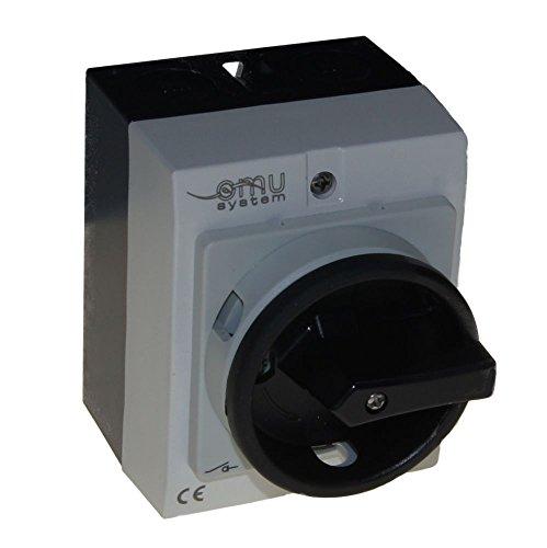 20A Hauptschalter Lasttrennschalter Not-Aus-Schalter MX-320P IP65 / 4 kW