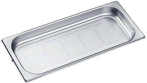 Miele DGGL20 Backofen- und Herdzubehör / 1,8 Liter / edelstahl / Gelochter Garbehälter für Dampfgarer