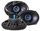 Autotek ATX693 Altavoz Audio De 3 vías 300 W Ovalado 3 Pieza(s) - Altavoces para Coche (De 3 vías, 300 W, 150 W, 4 Ω, Polipropileno, 46-22000 Hz)
