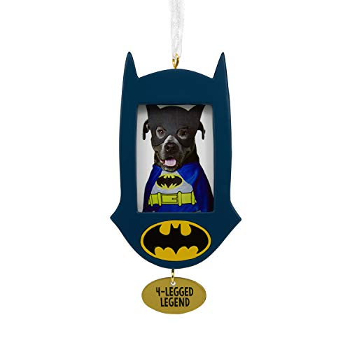 Hallmark Christmas Ornaments, DC Comics Batman Pet Picture Frame Ornament