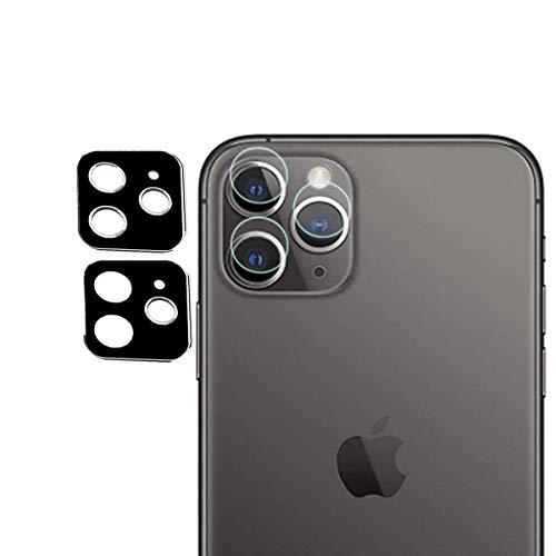 GEEMEE Für iPhone 11 Pro Max Kamera Panzerglas Schutzfolie,Anti-Kratzer Anti-Staub HD Hochauflösender Gehärtetes Für Kamera objektiv Full Scratch Protection