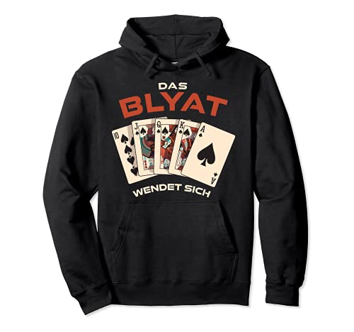 Le Blyat se retourne ! Cyka Blyat Russie Poker Sweat à Capuche